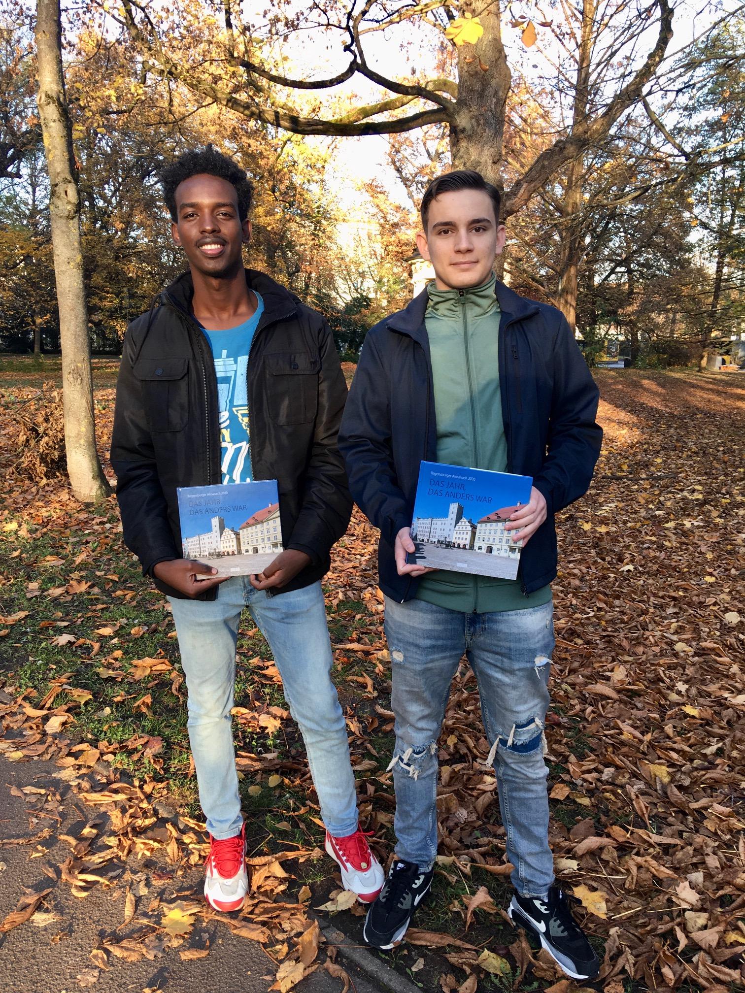 Jugendliche schreiben für den Regensburger Almanach